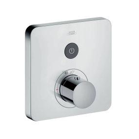Termostato-Axor-ShowerSelect-com-botao-de-acionamento-mecanico-para-um-ponto-de-agua